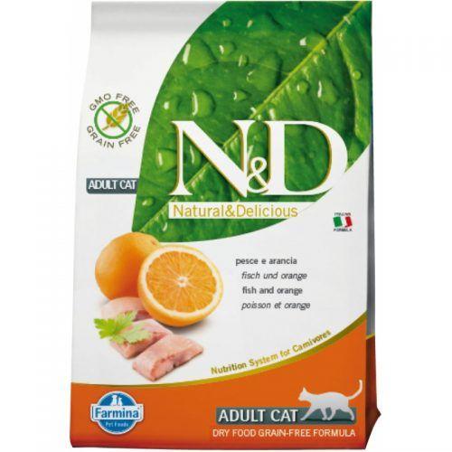 Farmina ND gato Grain Free pescado y naranja