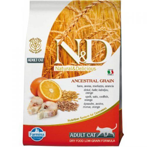 Farmina ND gato Low Grain pescado y naranja