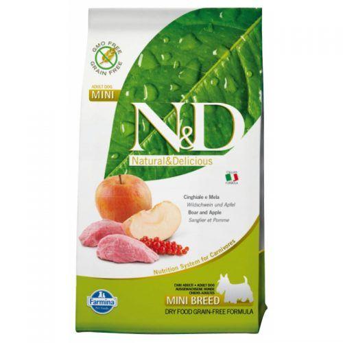 Farmina ND perro Grain Free jabali y manzana