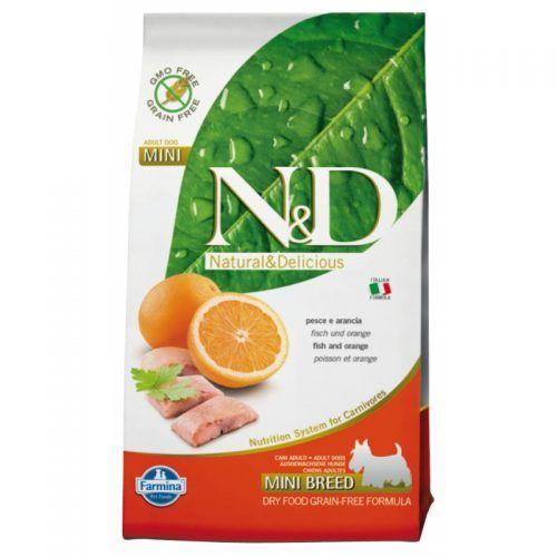 armina ND perro Grain Free pescado y naranja