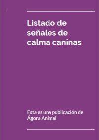 Listado de señales de calma caninas